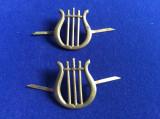 Insigne militare - Insigne România-Semne de armă - Muzică veche (culoare aurie)