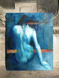 Tablou in ulei pe panza Nud - 80x100 cm