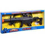 Arma interactiva de jucarie pentru copii, model de politie, 72 cm