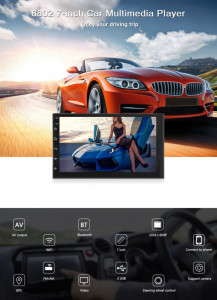 Navigatie Mp5 Player 2Din auto 7'' Android 8.1 Wifi GPS