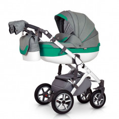 Krausman - Carucior 3 in 1 Contempo Green