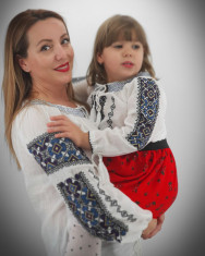 Set Traditional Mama Tata fiica fiu Narius foto