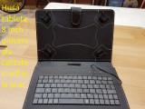 Husa tableta 8 inch universala cu tastatura calitate si ieftin la pret