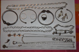 LOT BIJUTERII ARGINT 925 - Bratari, inele, cercei - 160g. - Doar 3.5lei/gr. !, Ornamentale