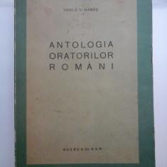 ANTOLOGIA ORATORILOR ROMANI - VASILE V. HANES