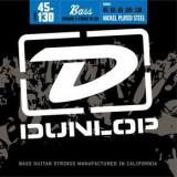 Corzi chitara bass Dunlop Nickel Plated Steel- Medium, 45-125, 5-String