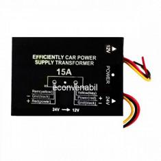 Transformator Convertor tensiune 24V 12V 15A VR