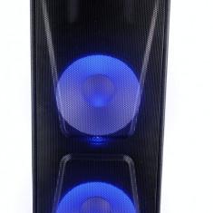 Boxa portabila Akai ABTS-AW122 cu BT, lumini disco, functie inregistrare, microfon, Negru