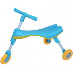 Tricicleta copii pliabila fara pedale - Albastru
