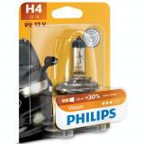 Bec Auto Far Philips H4 Vision, +30%, 12V, 55W