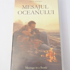 Caseta video VHS originala film tradus Ro - Mesajul Oceanului