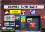 Model Diorama Service Auto Dacia 1:43, 1:24, 1:18
