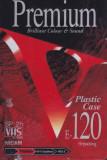 Caseta video VHS SONY Premium 120 min ( Plastic Case ) - noua, sigilata