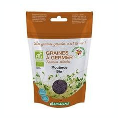 Boabe de Mustar pentru Germinat Bio Germline 100gr Cod: 3465511119103
