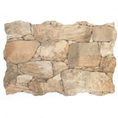 Placa murala mata in relief Ribassos Natural 33 x 55