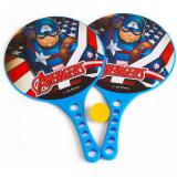Set palete tenis de masa Captain America Seven, minge inclusa
