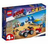 LEGO Movie 2, Atelierul Construieste si repara! al lui Emmet si Benny 70821