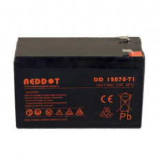 Acumulator stationar 12V 7Ah, Plumb Acid VRAL AGM Reddot