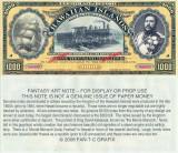 1,000 dollars - Insulele Hawaii - stare UNC SPECIMEN