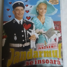 JANDARMUL SE INSOARA - DVD- LOUIS DE FUNES