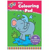 Prima carte de colorat, Galt