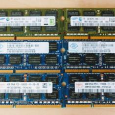 Memorie laptop SODIMM 4GB DDR3 12800s 1600 Mhz (1x4Gb) 1.5V, 4 GB, 1333 mhz