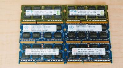 Memorie laptop SODIMM 4GB DDR3 12800s 1600 Mhz (1x4Gb) 1.5V foto