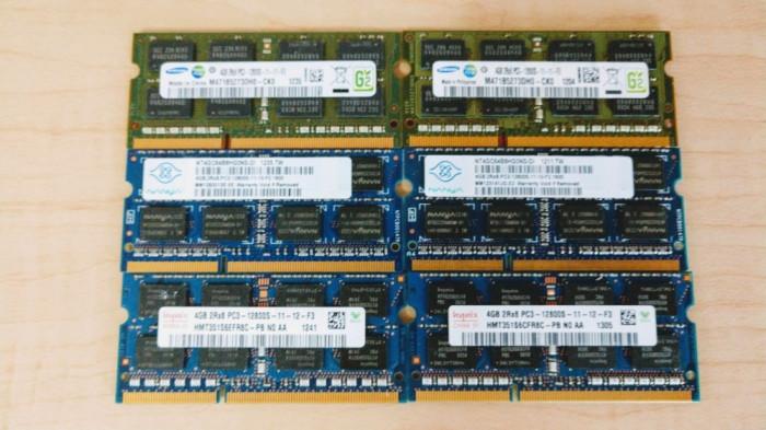 Memorie laptop SODIMM 4GB DDR3 12800s 1600 Mhz (1x4Gb) 1.5V