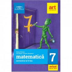 Matematica pentru clasa a VII-a. Semestrul al II-lea. Clubul matematicienilor