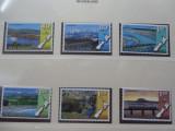 NOUA ZEELANDA-LOCOMOTIVE-NESTAMPILATE-2 POZE