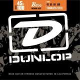 Corzi chitara bass Dunlop Nickel Plated Steel - Medium Light, 45-100