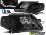 Faruri VW PASSAT B6 3C 03.05-10 TRU DRL Negru