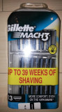 SET ECONOMIC Rezerve Gillette Mach3 set de 6 bucati (NOU)
