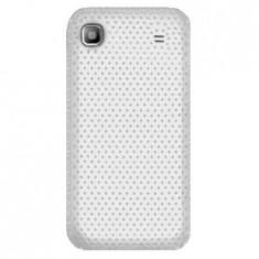 Husa Telefon Plastic Samsung Galaxy S i9000 Mesh White