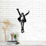 Decoratiune pentru perete, Ocean, metal 100 procente, 36 x 69 cm, 874OCN1055, Negru