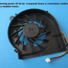 Cooler fan ventilator Laptop Compaq Presario CQ56 nou cu optiune de montaj