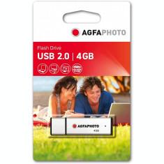 Memorie USB AgfaPhoto 4GB USB 2.0 Silver