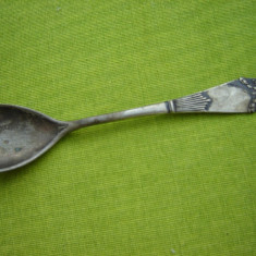 Lingurita veche argintata, provenienta suedeza