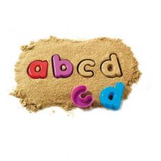 Litere mici de tipar Set 26 forme nisip