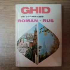 GHID DE CONVERSATIEI ROMAN - RUS de TATIANA VORONTOVA , 1968
