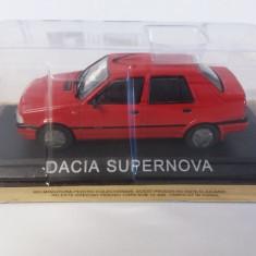 macheta dacia supernova deagostini masini de legenda romania - 1/43, noua.