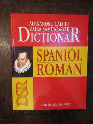 Dicționar spaniol-român - Alexandru Calciu, Zaira Samharadze foto