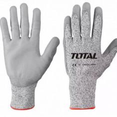 Manusi de Protectie PU + HPPE + Textil - Rezistente la Taiere XL - Profesionale