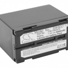 Acumulator pentru panasonic nv-dx100 u.a. wie vw-vbd815 u.a. 7.4v, li-ion, 6000mah, ,