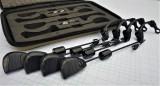 SET 4 Swingere Black SW20 LED MULTICOLOR cu sistem Magnetic si penar transport
