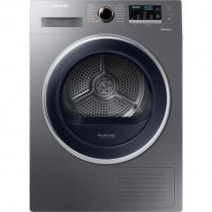 Uscator de rufe Samsung DV90M5010QX/LE, 9 kg, Pompa de caldura, Clasa A++, Argintiu