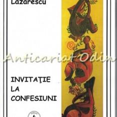 Invitatie La Confesiuni - Rodica Lazarescu