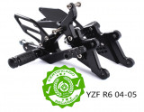 ✅ Set scarite spate ▷ Yamaha yzf R6 2003 2004 2005 2006 2007 🏍️ R6S negru