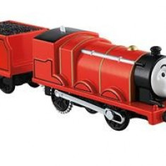 Jucarie Thomas & Friends Trackmaster Motorized Railway James Engine With Wagon