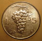 1.784 ITALIA STRUGURI 5 LIRE 1950